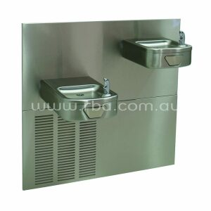 Contour' Dual Heavy Duty Water Cooler w/ Round Button RBA2729-933 | RBA Group
