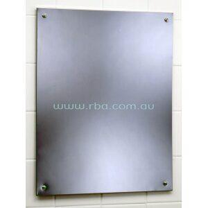 Bobrick B1556-DIS Accessible Compliant Mirror Frameless | RBA Group
