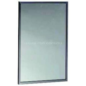 Bobrick Acessible Compliant Safety Glass Mirror With Stainless Steel Channel Frame B1658 1639 | RBA Group