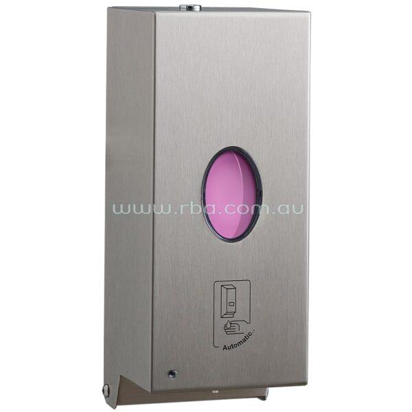 Touch-Free Bobrick Liquid Sanitiser and Soap Dispenser B2012   RBA Group