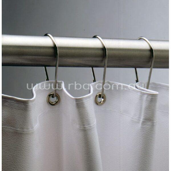 Bobrick B204.1 Stainless Steel Shower Curtain Hook | RBA Group