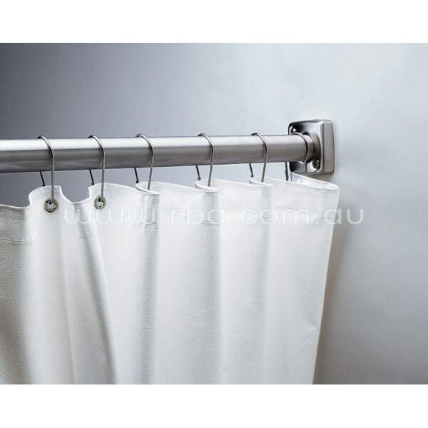 Bobrick B204.3 Shower Curtain White Vinyl 1780mm [W] x 1830 [H]   RBA Group