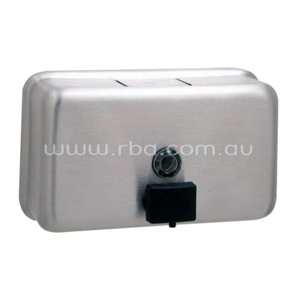 Bobrick Classic Series Liquid Soap Dispenser - Horizontal B2112   RBA Group