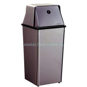 Bobrick B2250 49L Free Standing Waste Bin w/ Self Closing Swing Lid | RBA Group