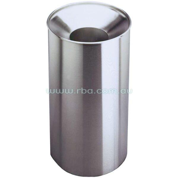 Stainless Steel Waste Bin - Large Capacity