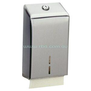 Surface-mounted Interleaf Toilet Tissue Dispenser