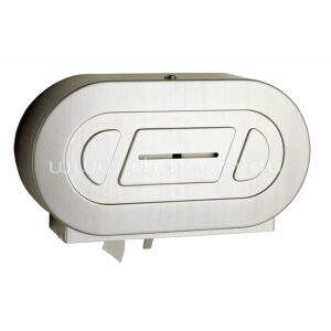Surfaced Mounted Twin Jumbo-Roll Toilet Tissue Dispenser