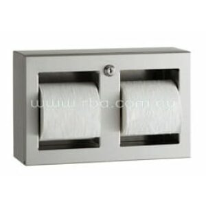 Double Toilet Roll Holder | Surface Mounted