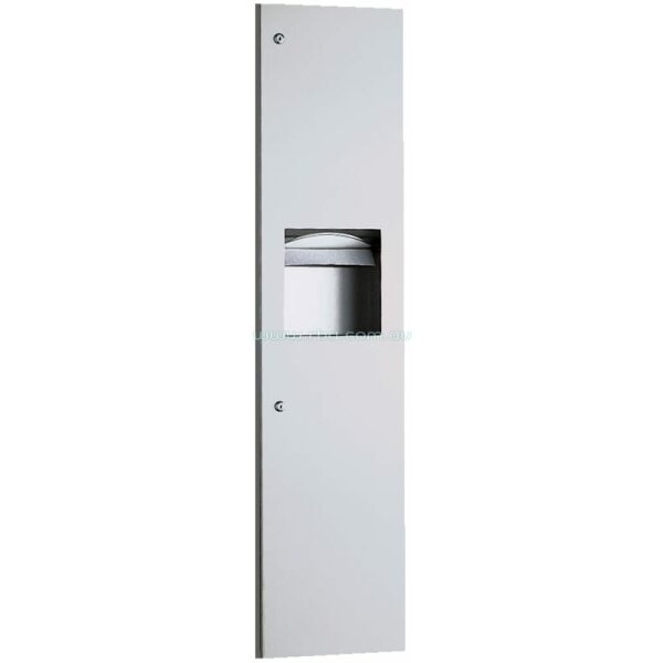 TrimLine Series&#8482 Recessed Paper Towel Dispenser & Waste Receptacle