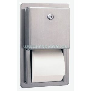 Recessed Toilet Roll Holder