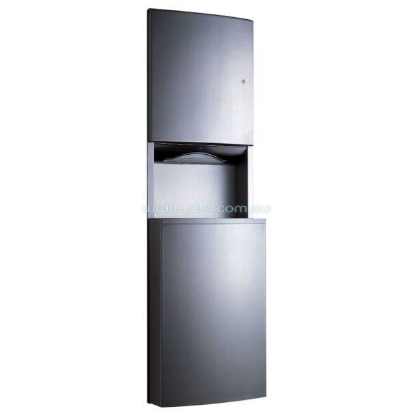 Bobrick Contura™ Recessed Paper Towel Dispenser and Waste Receptacle B43944   RBA Group