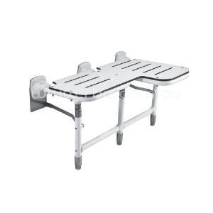 Bobrick Bariatric Folding Shower Seat with Legs
