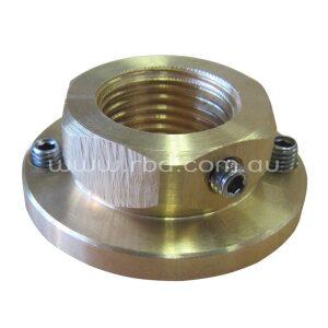 Vandal Resistant Locknut to suit all RBA / Docol basin mounted self closing taps