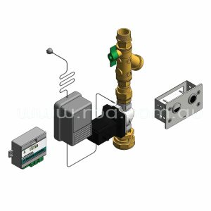 Dual Flush Valve Incl Small Mounting Plate