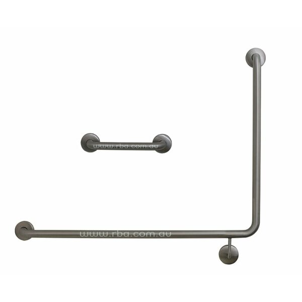 90° LH + 300 Straight | Grab Rail Set