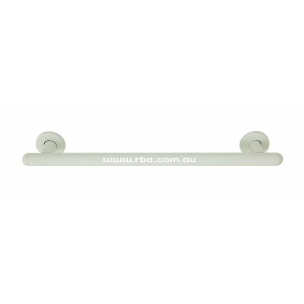516mm Straight Grab Rail White