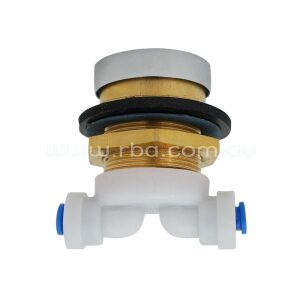 Recessed Pushbutton Valve Assembly