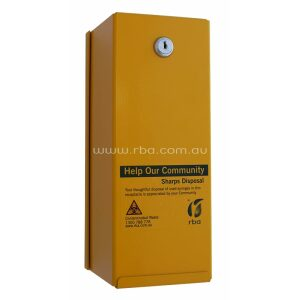Sharps Disposal Box | Safety Yellow