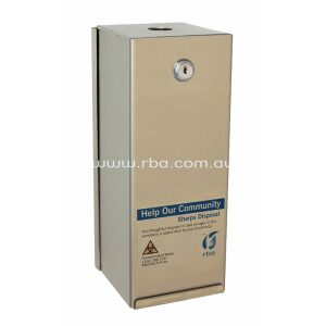 Sharps Disposal Box | Satin Finish