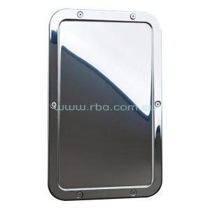 Stainless Steel Integral Framed Mirror