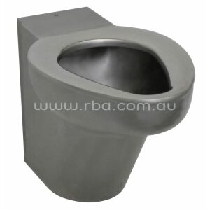 Wall Faced Stainless Steel WC Pan