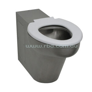 Wall Faced Stainless Steel WC Pan for Accessible use