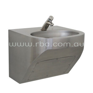 Benefit' Basin Wall Mounted With Tapware RBA8867-186