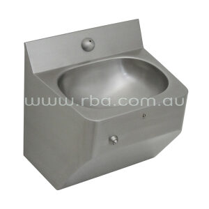 Security Wash Basin - Front Fixed