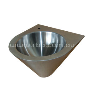 EURO Stainless Steel Basin-Front fixed