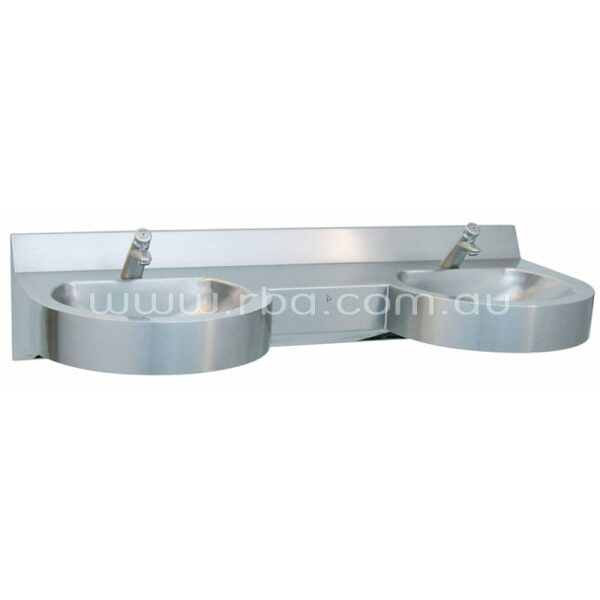 Curvalinear™ Double Basin RBA8889-281 | RBA Group