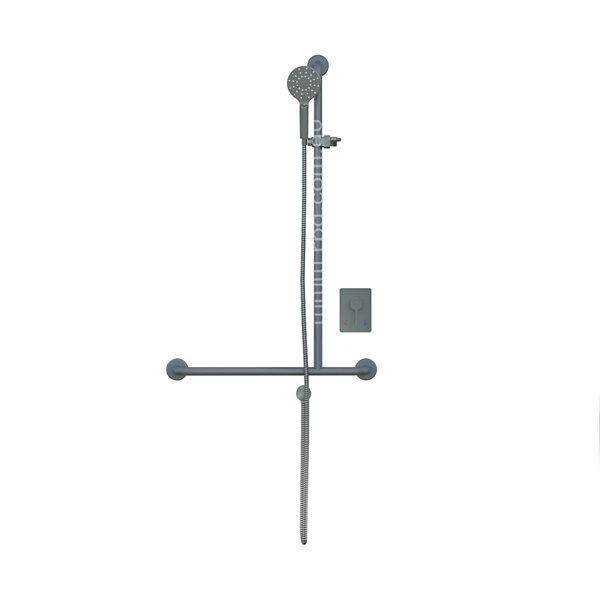 4 Star Shower Kit & Mixer Right Hand