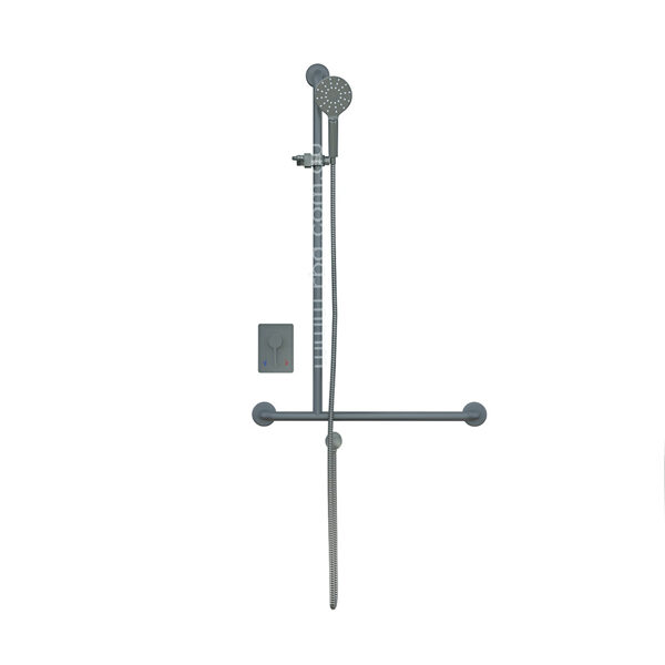 4 Star Shower T-Rail Kit and Mixer Left Hand