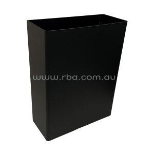 Matte Black Waste Bin RBA7742-777-005
