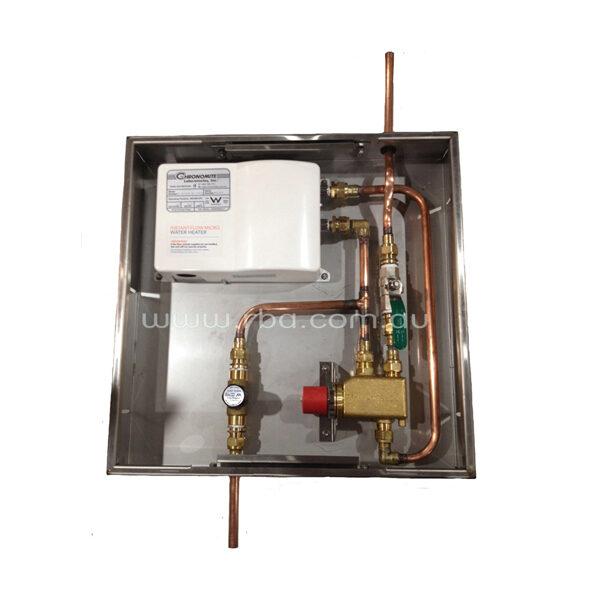Pre-Plumbed Water Heater & TMV