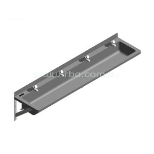Lead-Free Pre-plumbed 1600mm LH Trough with 4 Taps